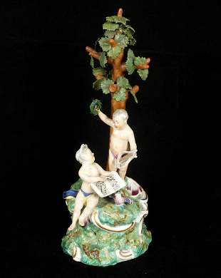 Dresden Porcelain Figural Group