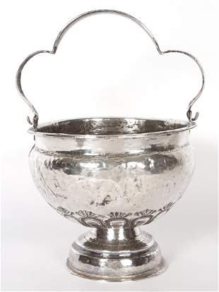 18th Century Spanish Colonial Silver Acetre