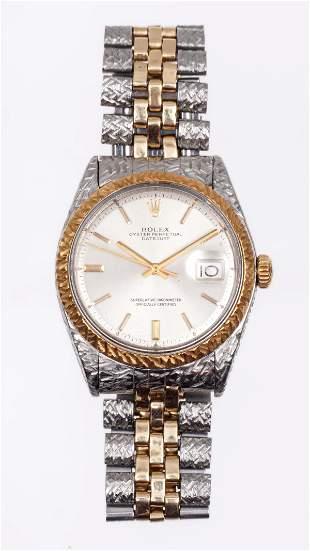 Rolex Oyster Perpetual Datejust Men Wrist Watch