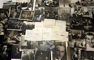 Impressive Collection of Arthur J Daley Ephemera