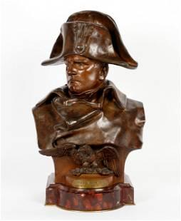 Renzo Colombo Bronze Bust of Napoleon