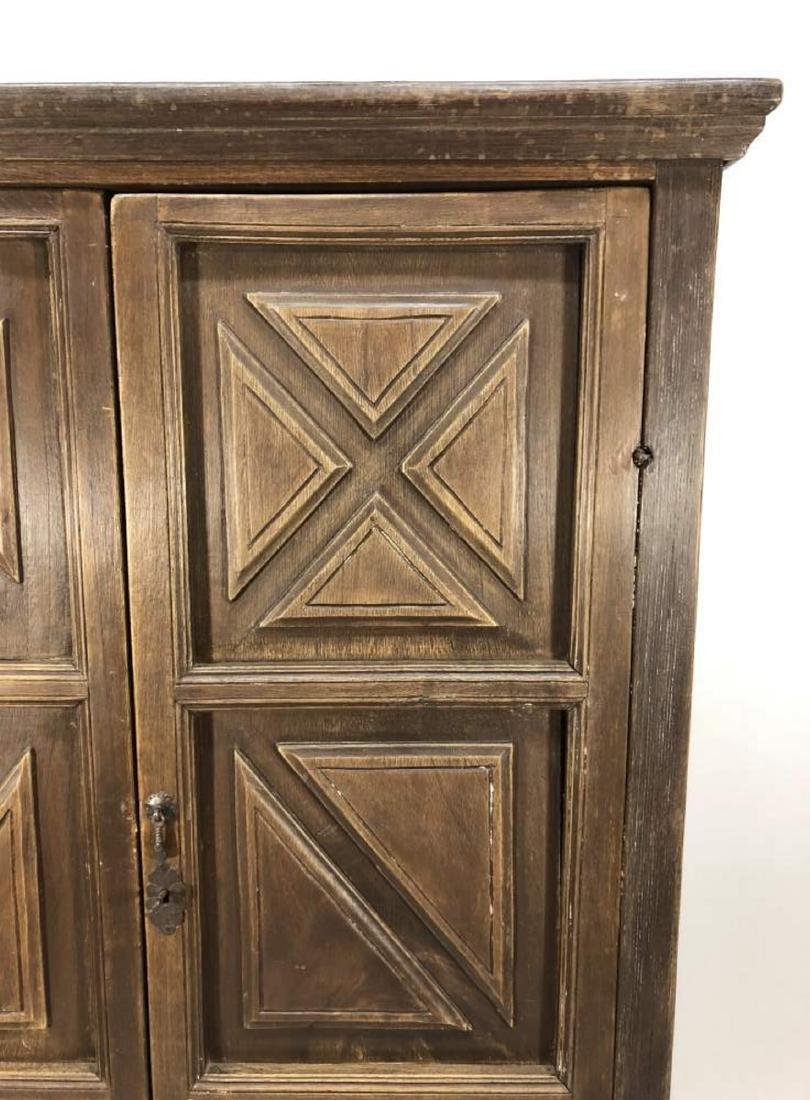 Hardwood Cabinet, Spanish Colonial - 2