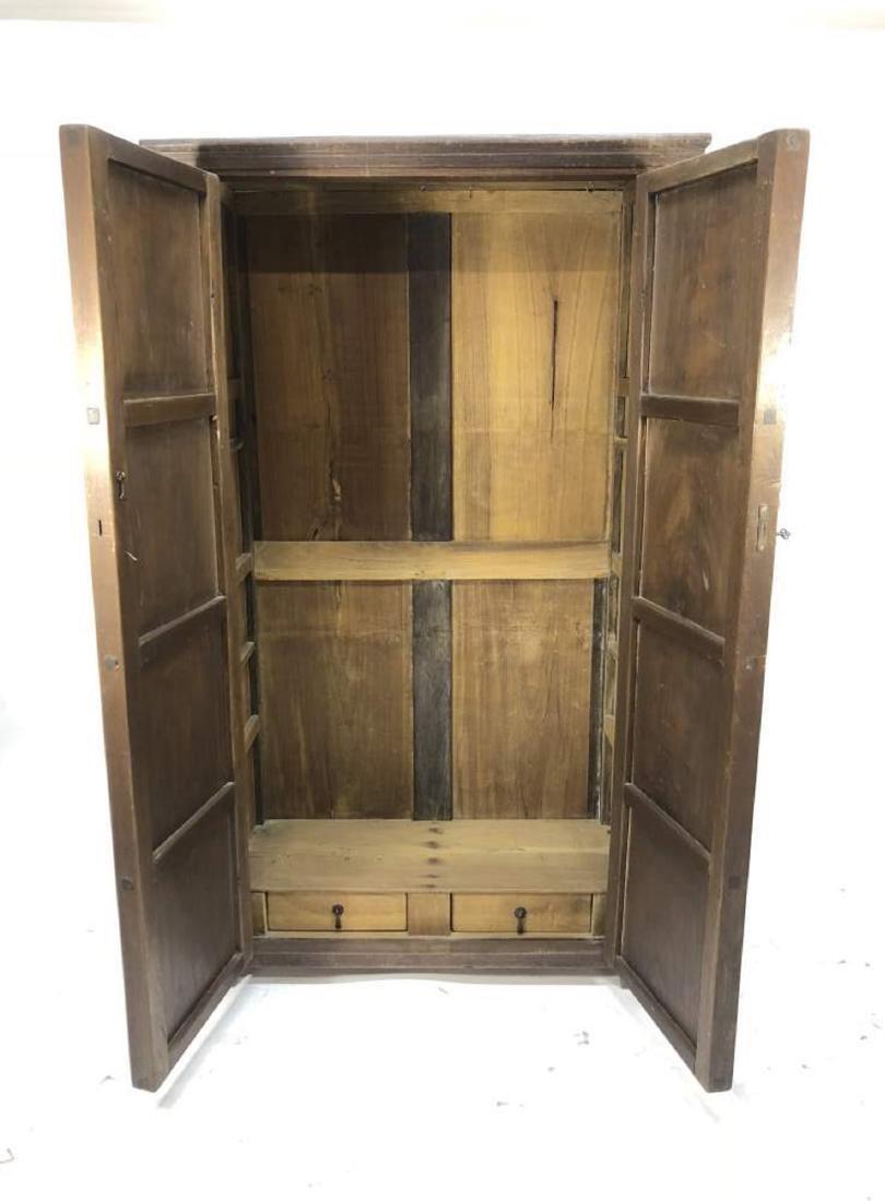 Hardwood Cabinet, Spanish Colonial - 6