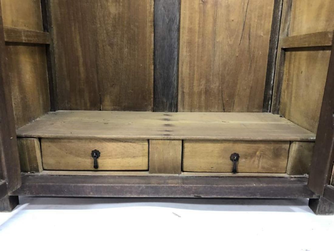 Hardwood Cabinet, Spanish Colonial - 8