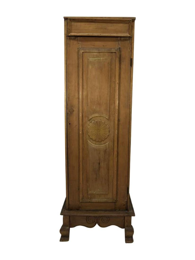 Slender Upright Cupboard, Spanish Colonial