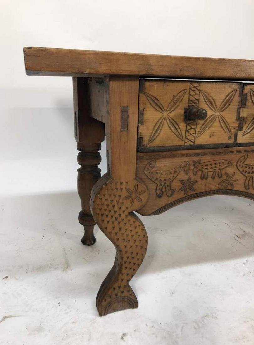 Nahuala Console Table, Central American - 2