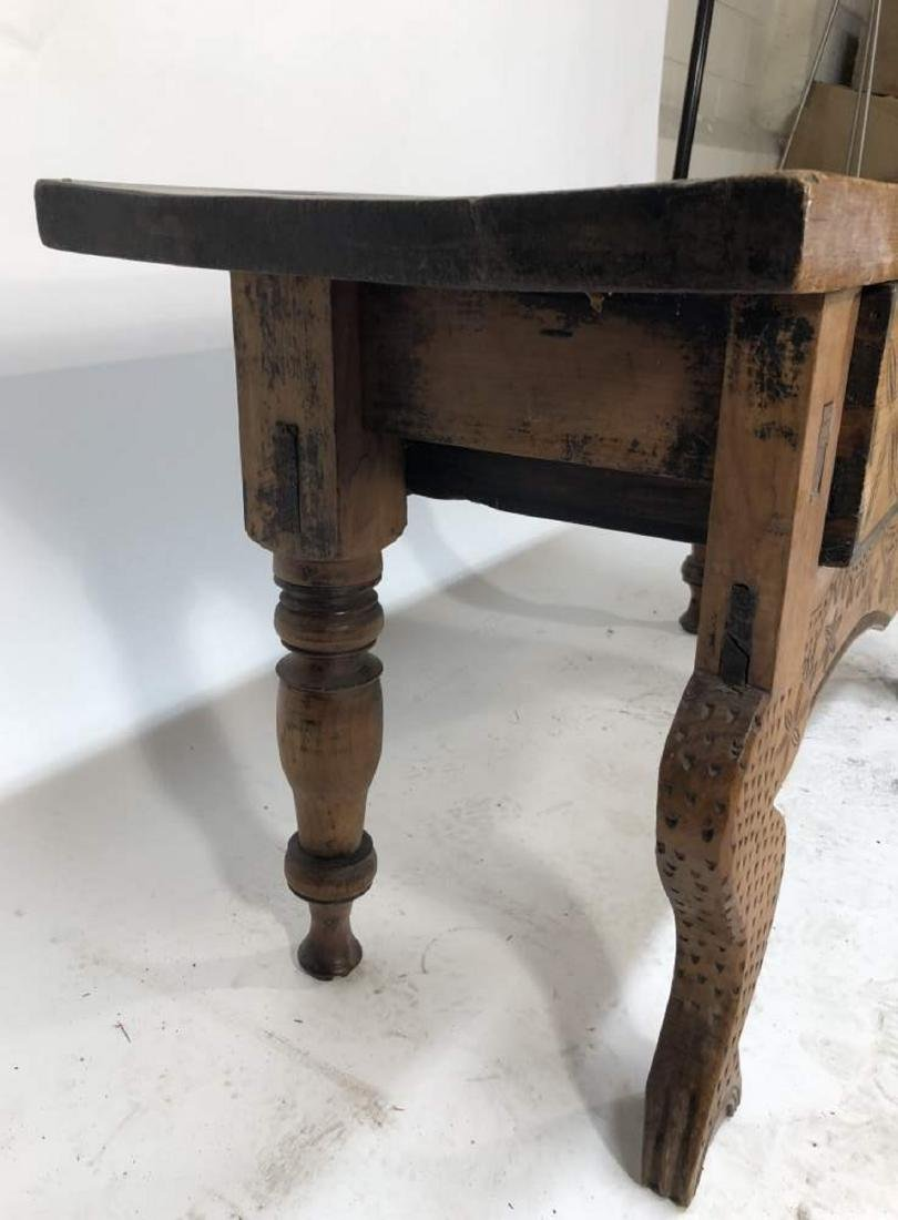 Nahuala Console Table, Central American - 8
