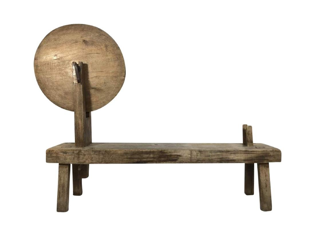 Spinning Bench, Spanish Colonial