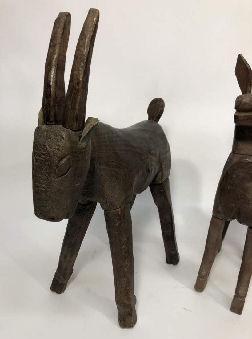 Collection of Carved Horses, Spanish Colonial - 2
