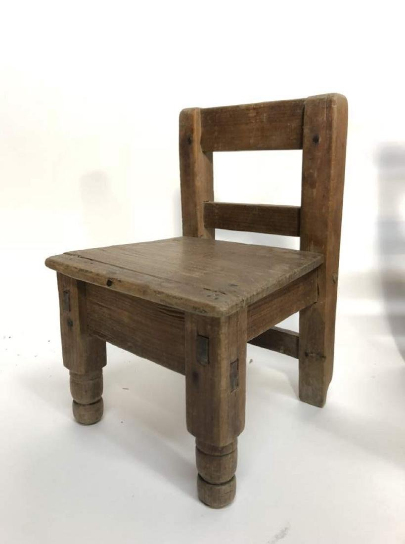 Grouping Miniature Chairs, Spanish Colonial - 2