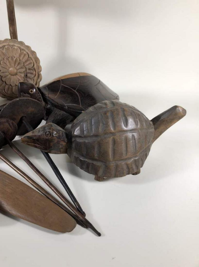 Grouping of Interesting Wooden Items, Spanish Colonial - 5