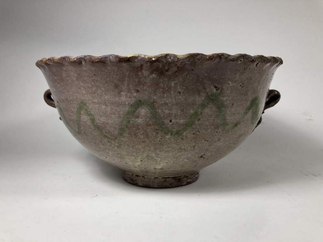 Two Montiel Studio Majolica Bowls, Guatemalan - 3