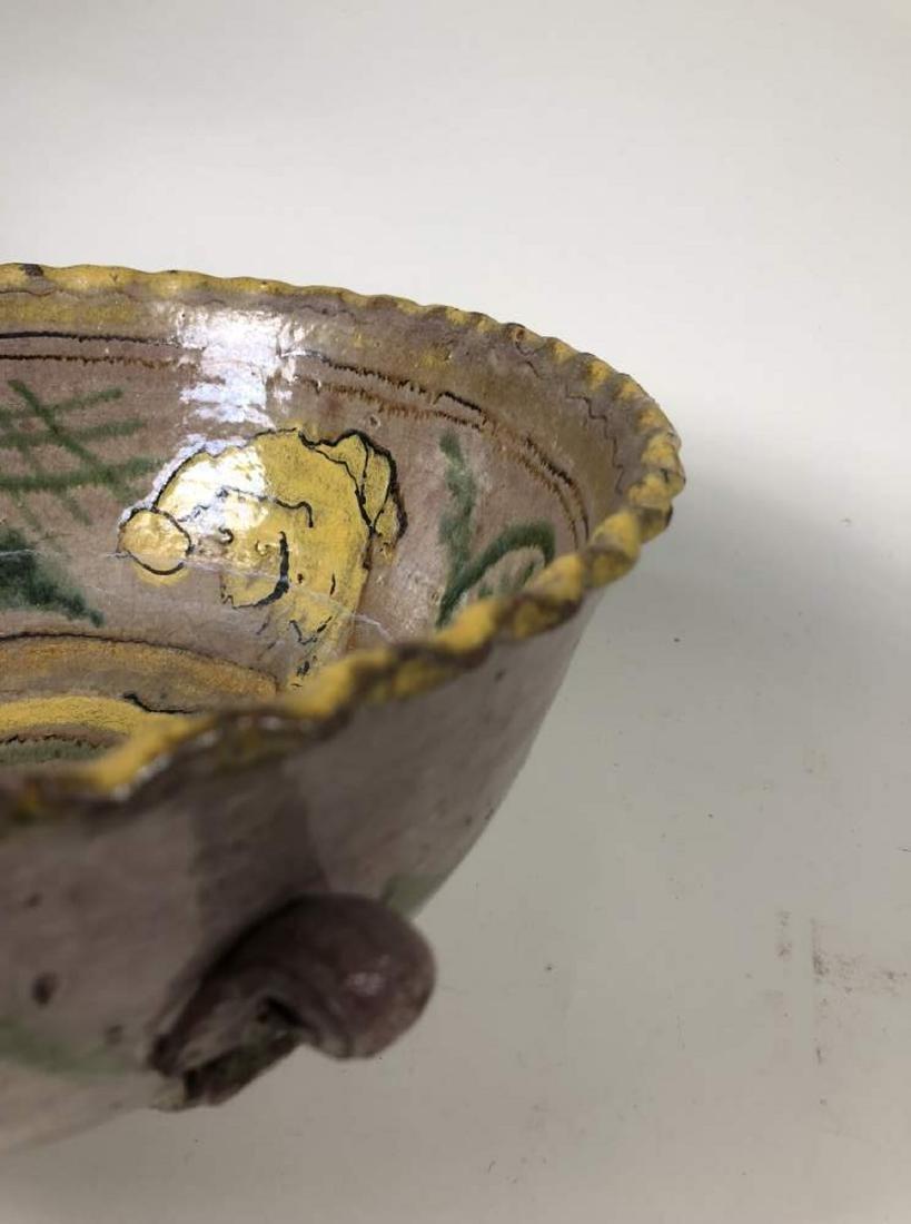 Two Montiel Studio Majolica Bowls, Guatemalan - 5