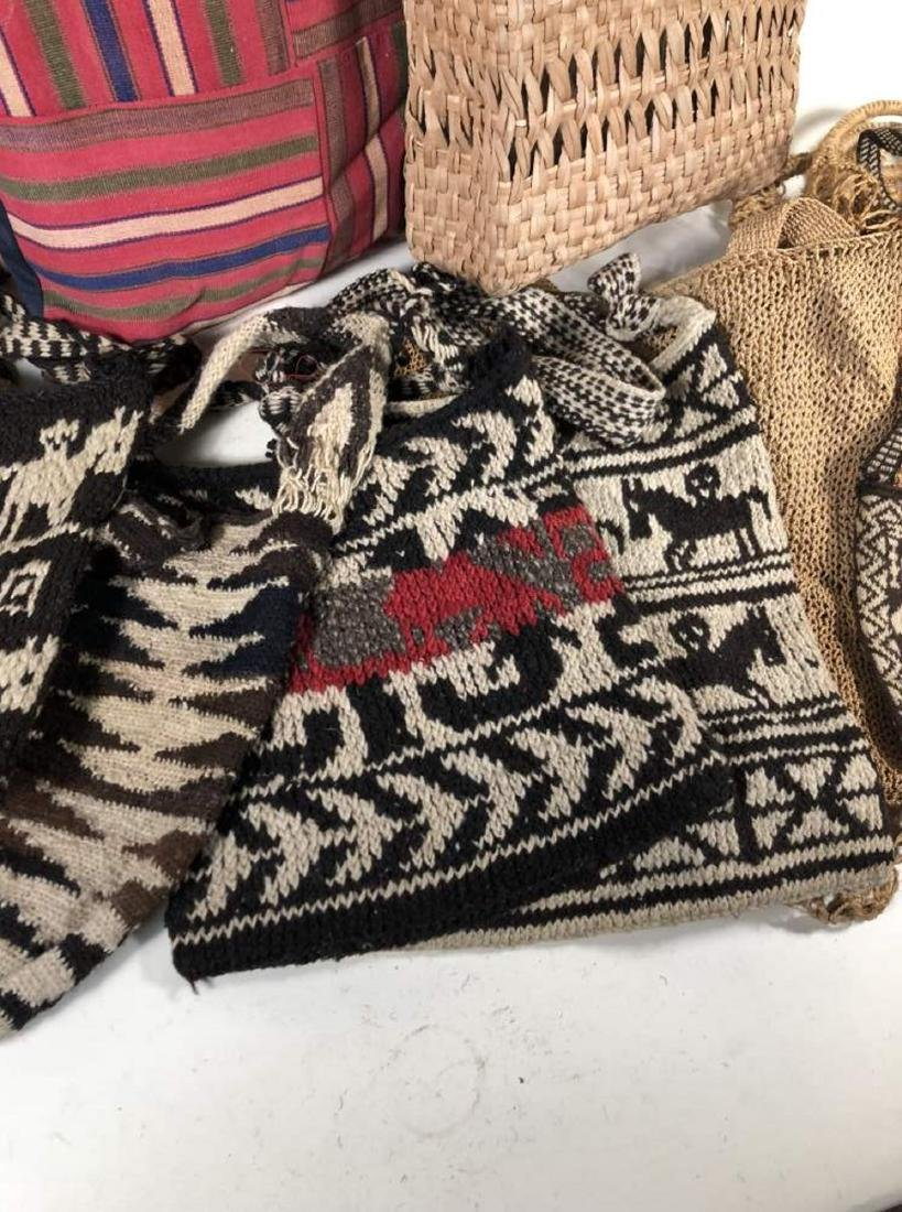 Collection of Textiles and Bags, South American - 3