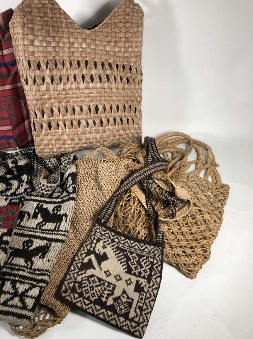 Collection of Textiles and Bags, South American - 4