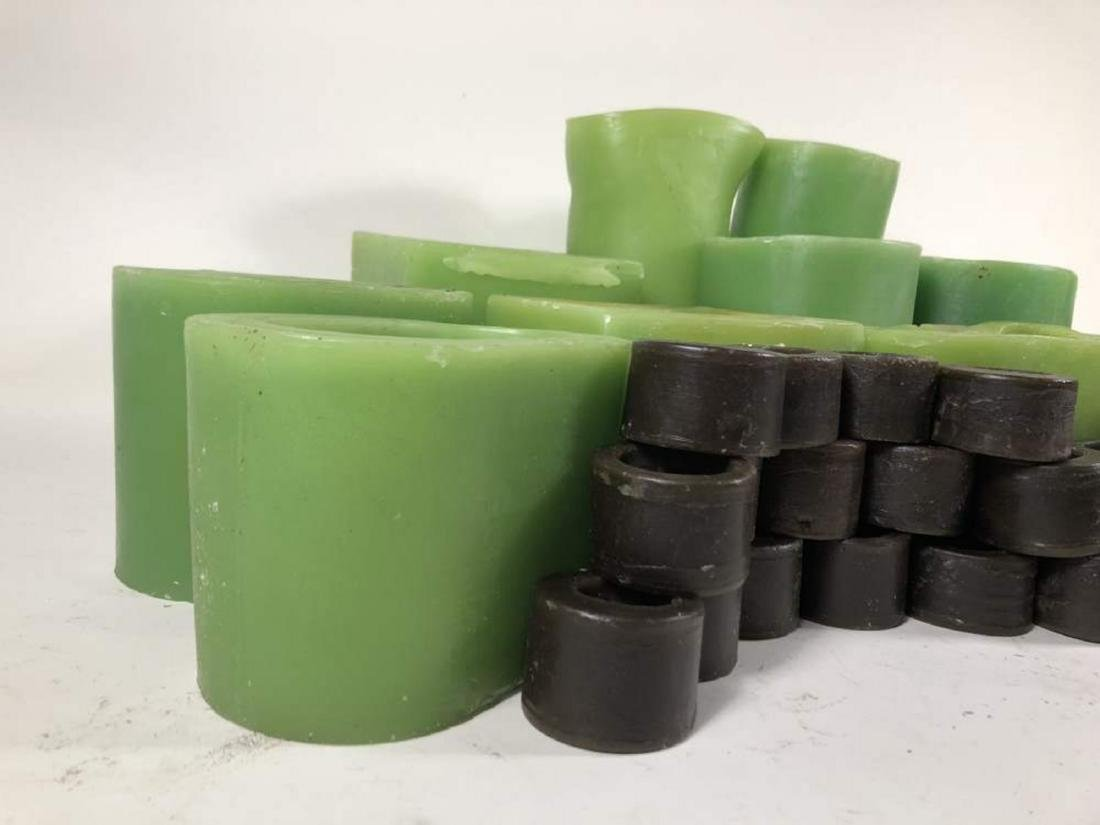 Wax Vases and Napkin Rings - 2