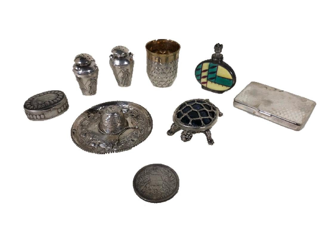 A Collection of Sterling Silver Miniatures