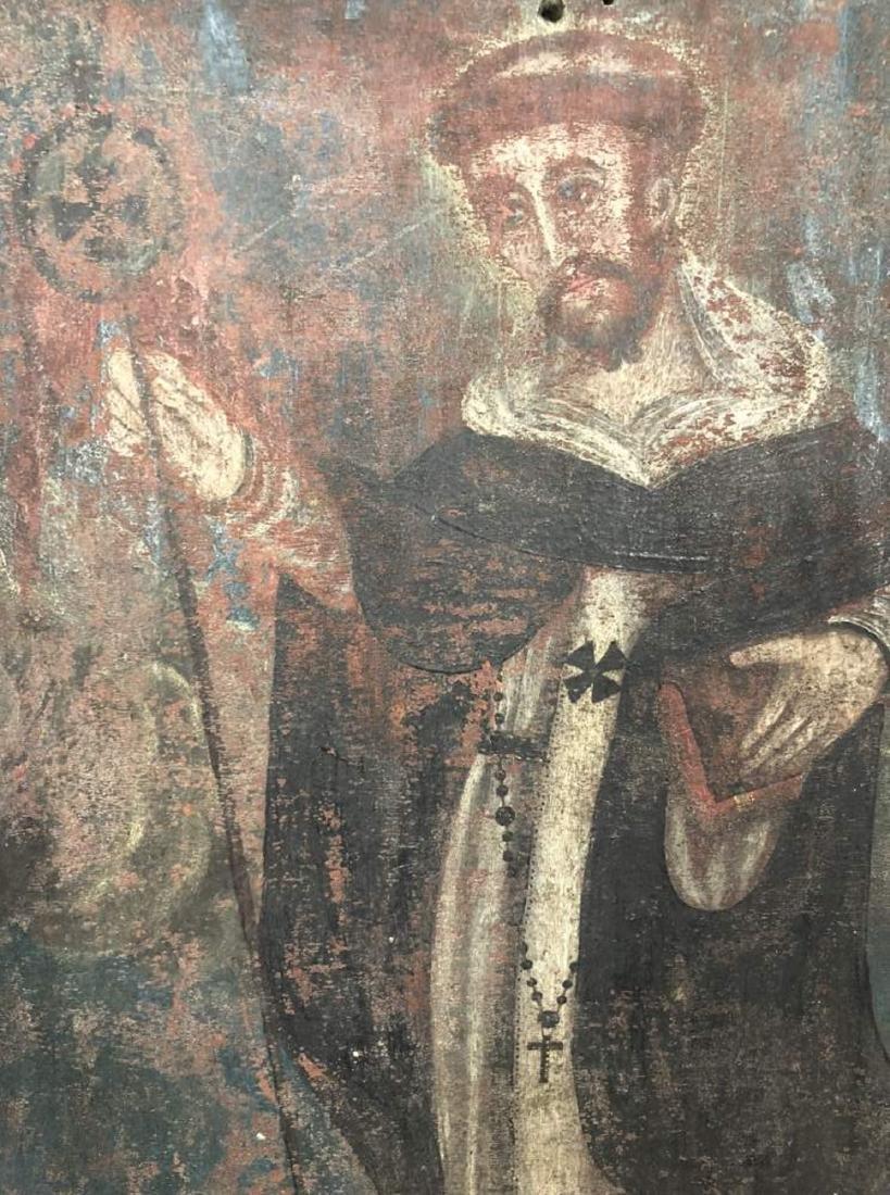 Polychrome Retablo of Saint Francis Assisi - 2