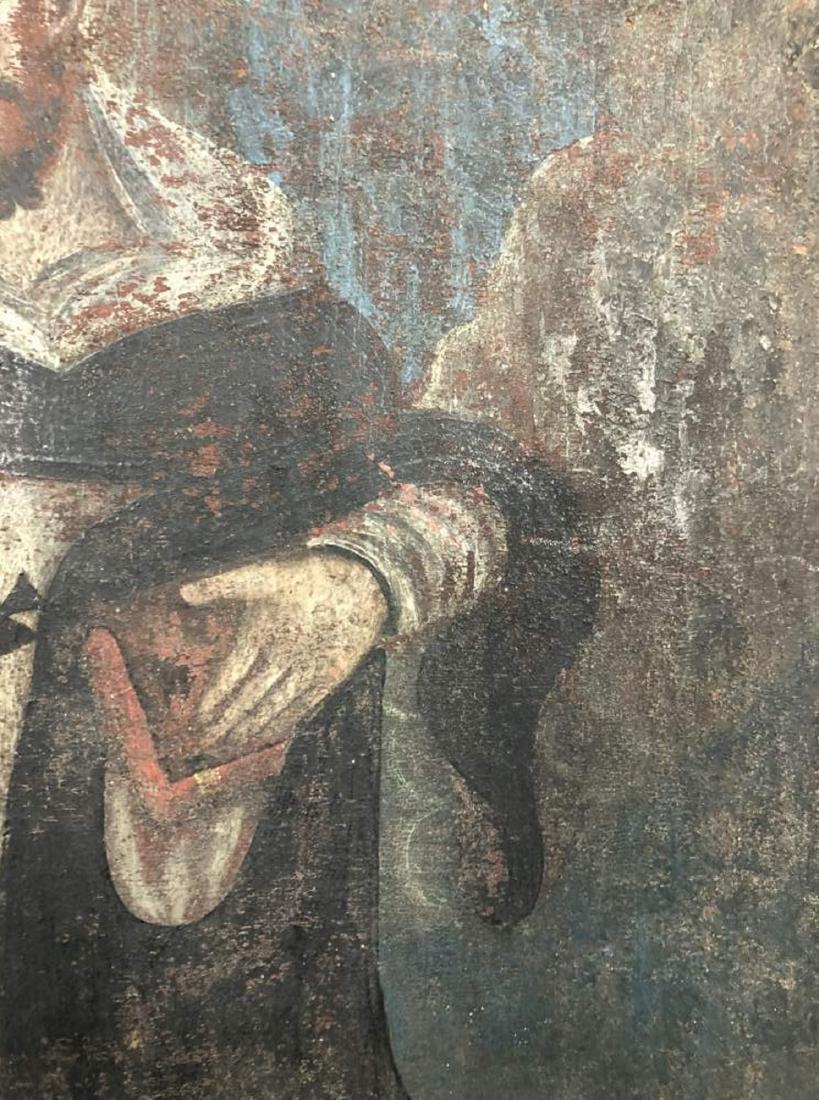 Polychrome Retablo of Saint Francis Assisi - 3