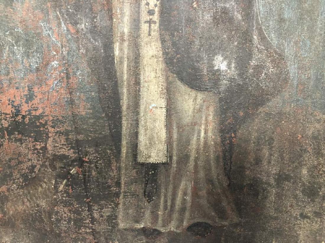 Polychrome Retablo of Saint Francis Assisi - 4
