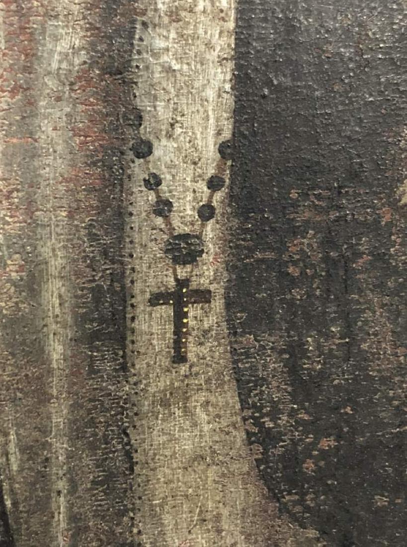 Polychrome Retablo of Saint Francis Assisi - 5