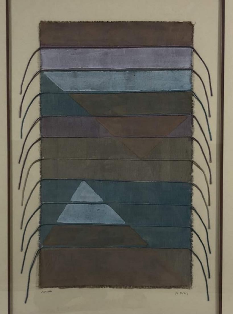 Framed Navajo Textile - 2
