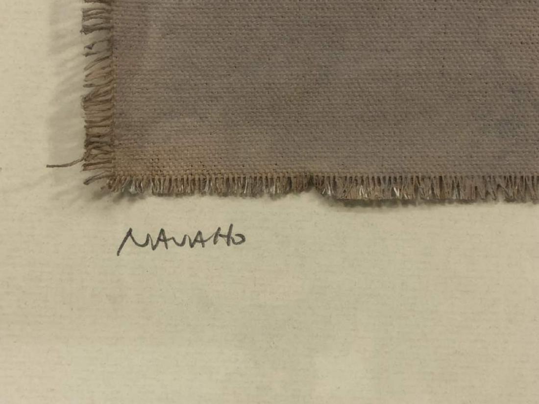 Framed Navajo Textile - 3