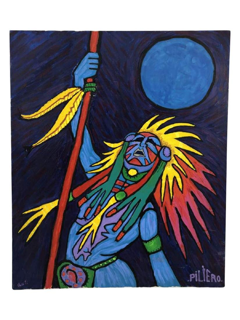 Oil on Canvas, Nicholas Piliero (American)