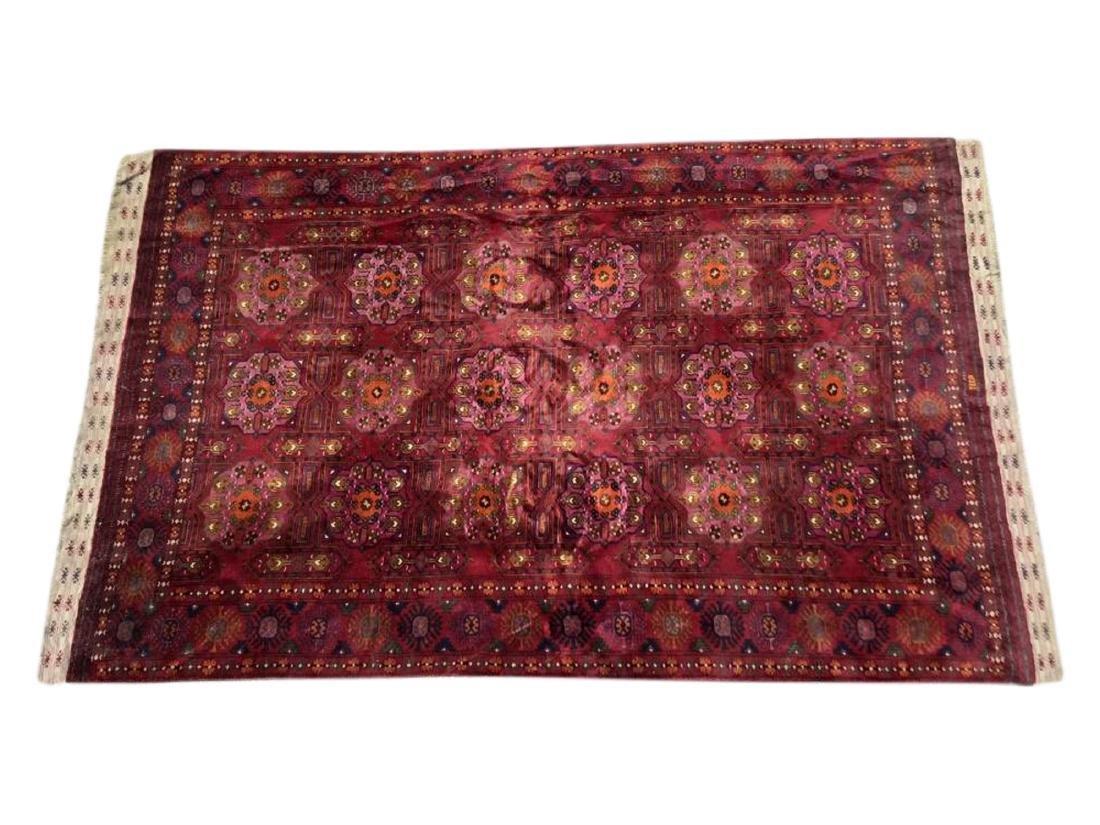 Antique Hand Woven Bokhara Carpet