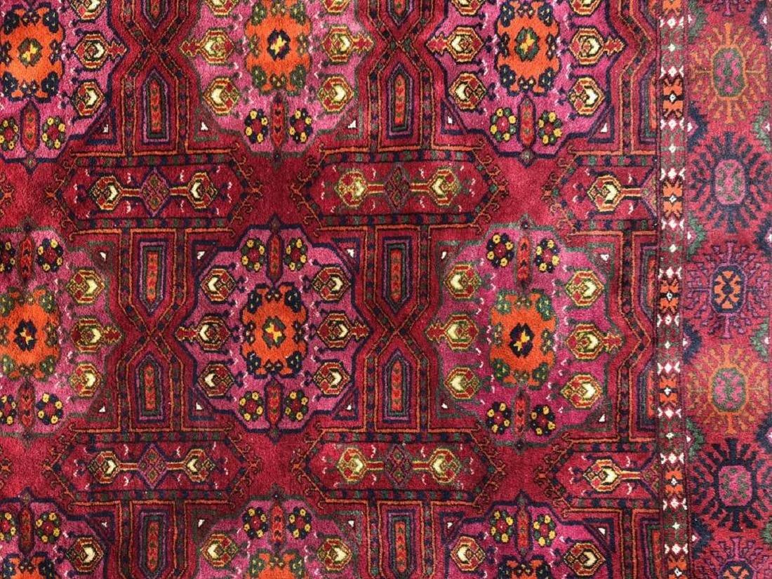 Antique Hand Woven Bokhara Carpet - 2
