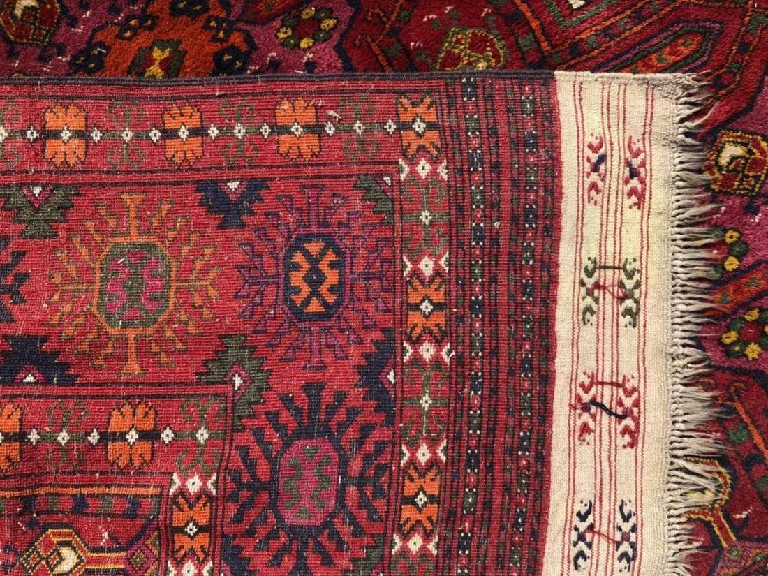 Antique Hand Woven Bokhara Carpet - 3