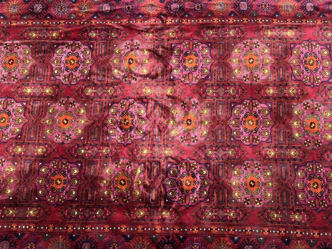 Antique Hand Woven Bokhara Carpet - 4