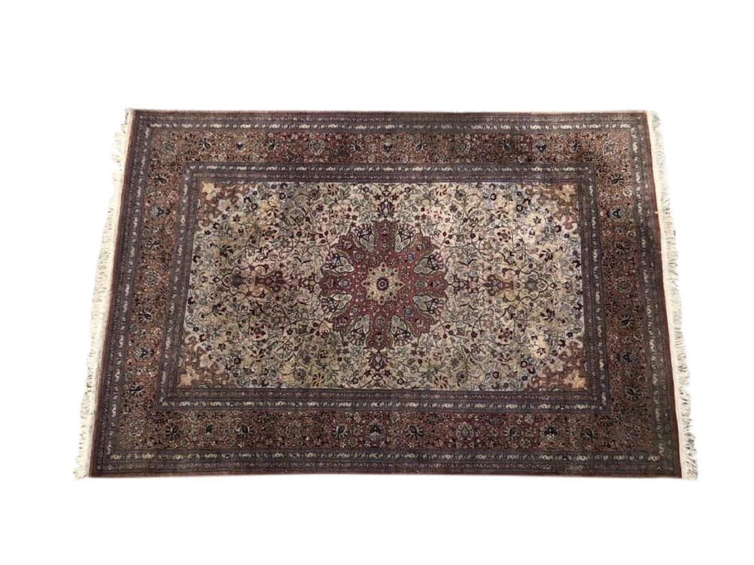 Antique Hand Woven Nain Carpet