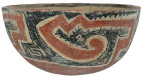 """11"""" D. Tonto Polychrome Bowl.  NM.   Pictured in"""