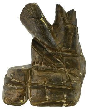 "6"" H. Ancient Sharpening Stone.  Rockingham Co, VA."