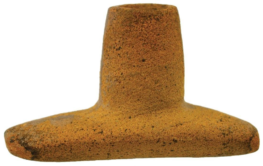 "2 3/4"" Sandstone Platform Pipe. Davis COA.   MO."