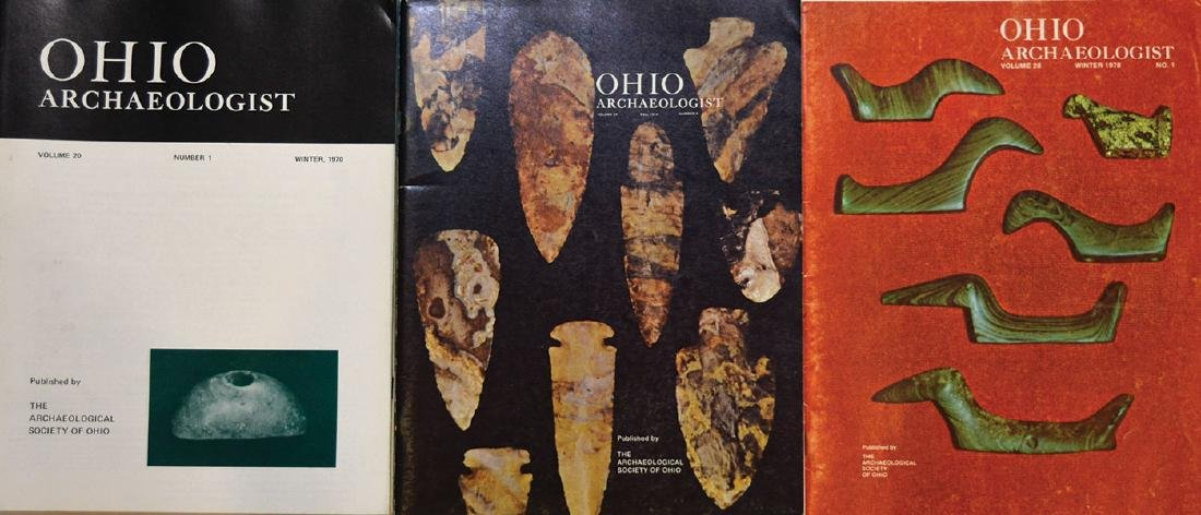 40 Ohio Archaeologists.  Complete set of 1970 through