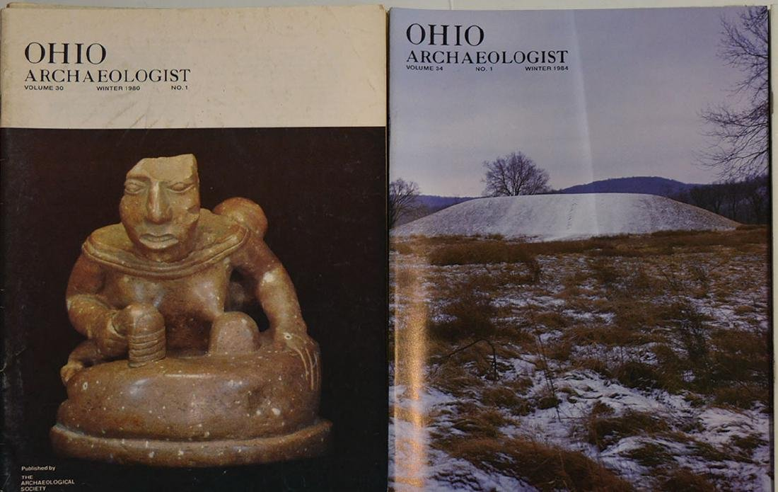 40 Ohio Archaeologists.  Complete set of 1980 through