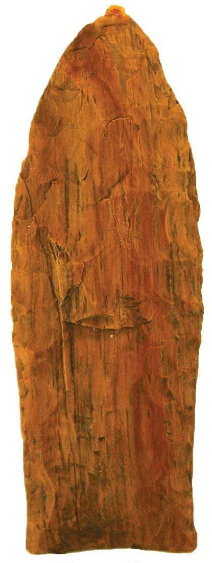 """2 13/16"""" Petrified Wood Clovis.  Rogers COA.  Northern"""