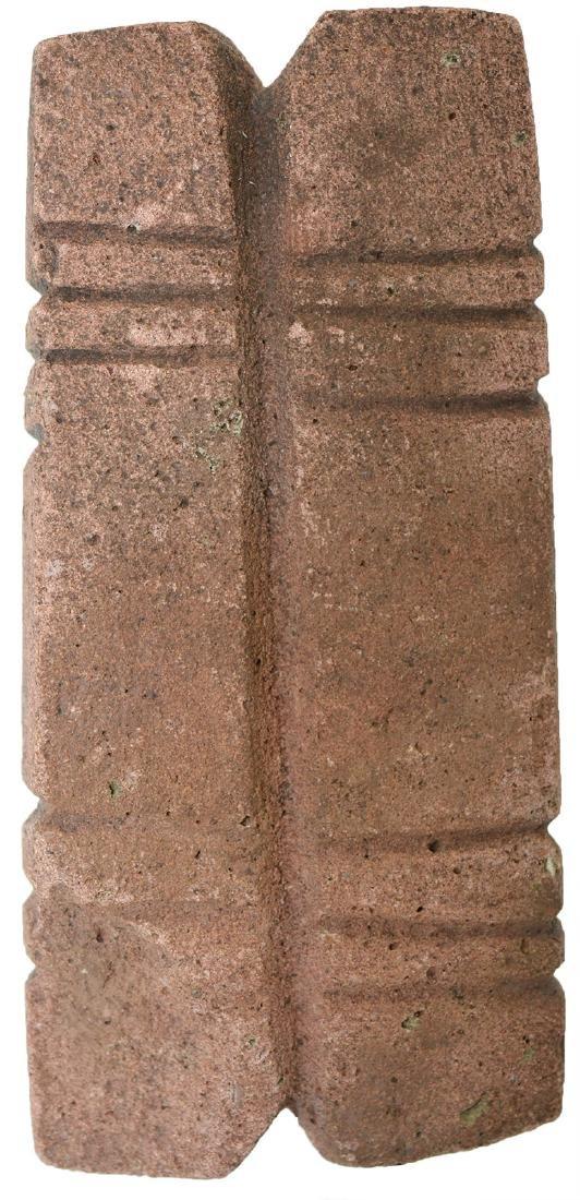 Rare Stone Spool.  TX.  Davis G9 COA.  Sandstone with