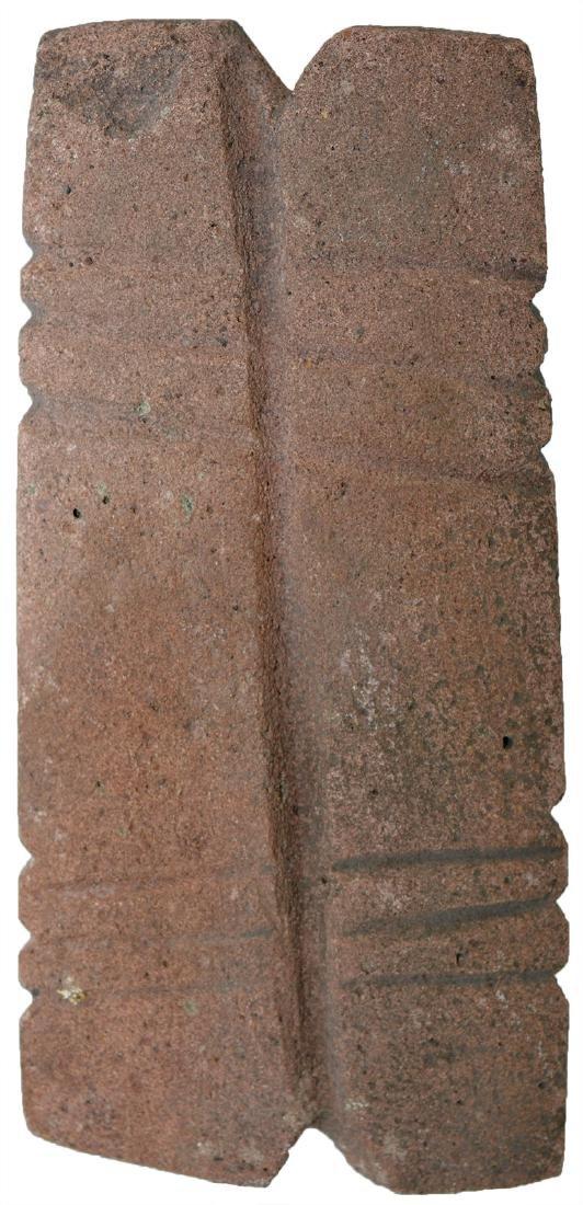 Rare Stone Spool.  TX.  Davis G9 COA.  Sandstone with - 2