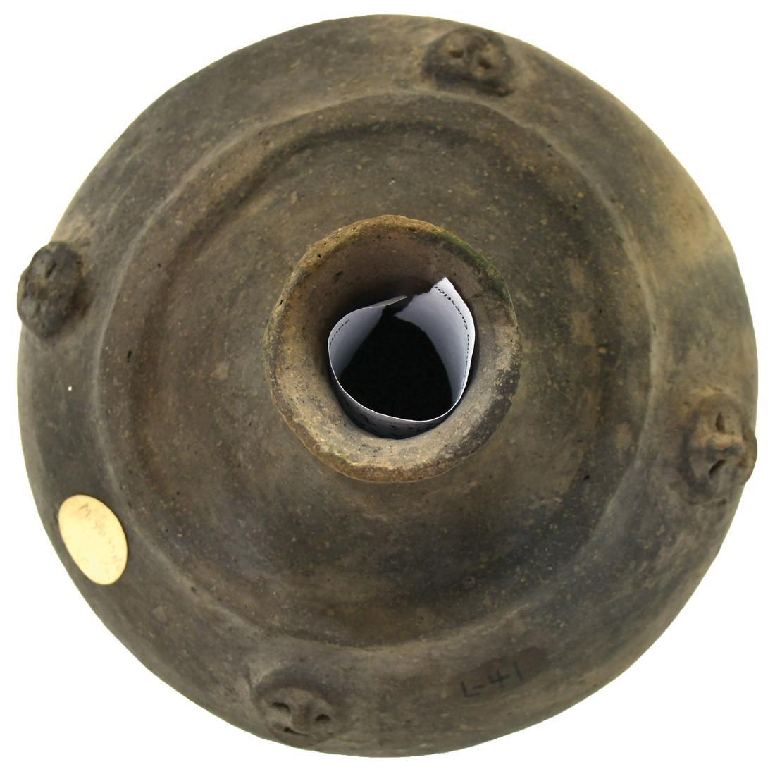 "5 11/6"" H. Medallion Jar.  Crosskno Site.  Mississippi - 2"