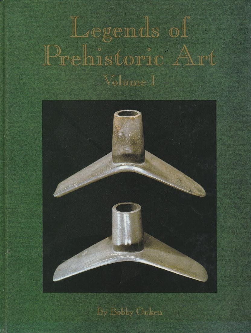 Book: Legends of Prehistoric Art (Vol. 1). Like new