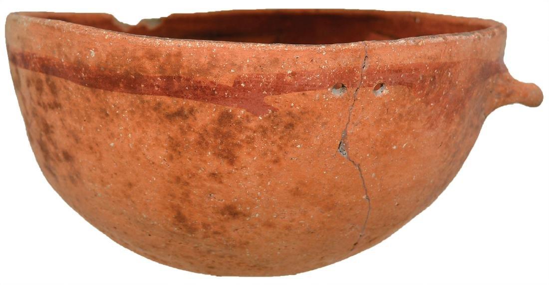 """7 5/16"""" D. Anasazi (Tusyan) Polychrome Bowl with lug."""