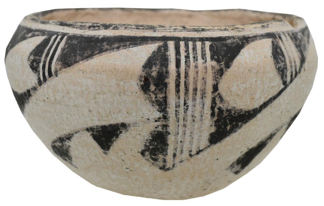"4 3/8"" D. Anasazi Cochita Bowl.  NM.  Older example,"