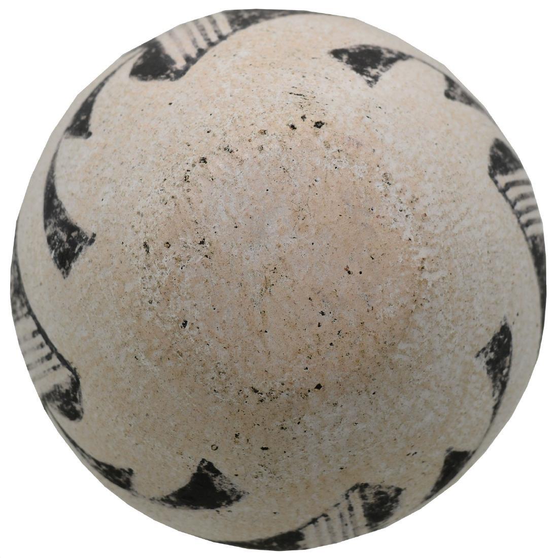 "4 3/8"" D. Anasazi Cochita Bowl.  NM.  Older example, - 2"