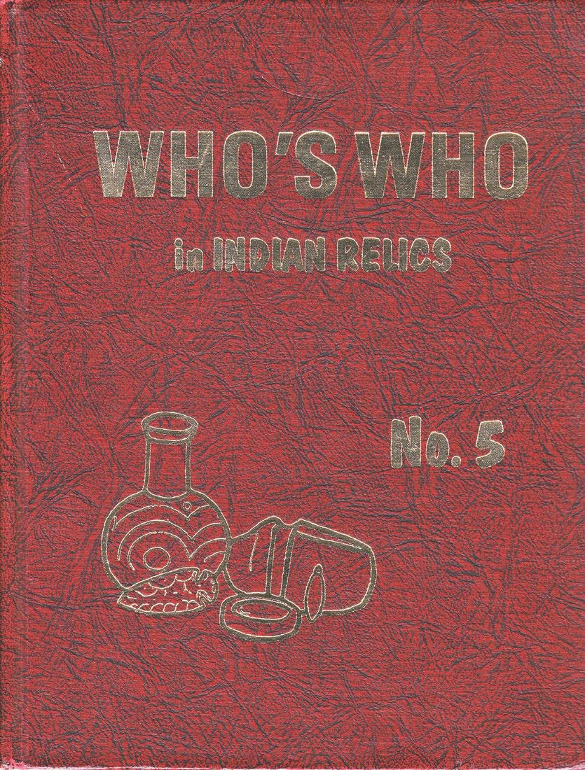 Who's Who in Indian Relics #5 (1st edition).  Fine