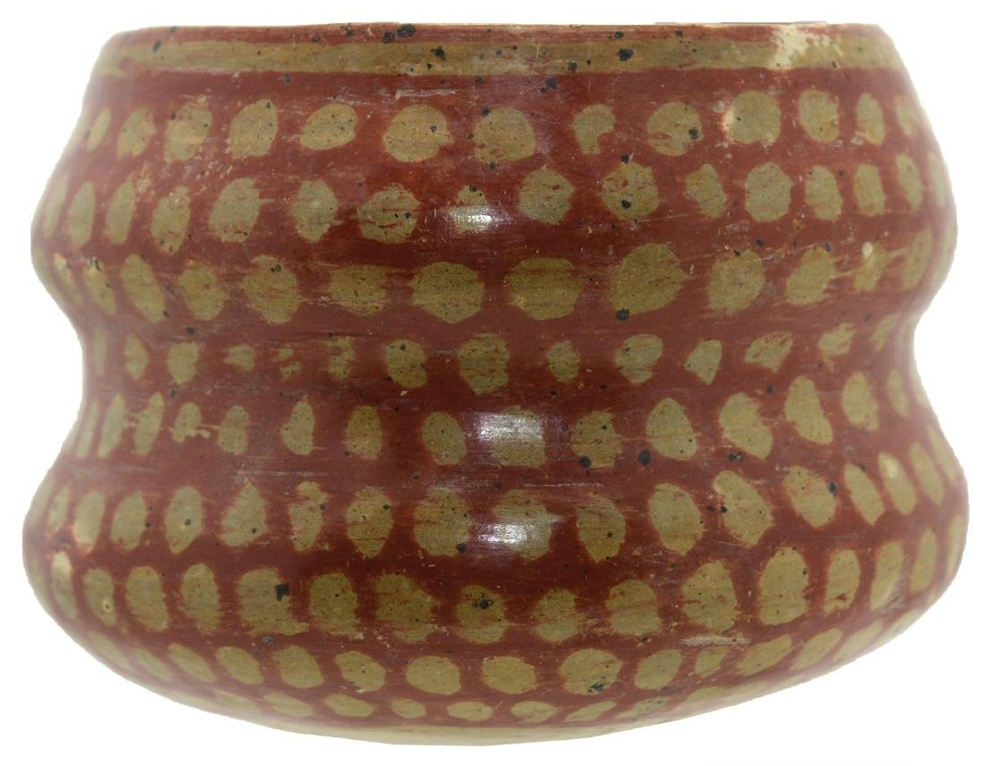 "5 1/4"" D. Double Lobed Bowl.  Chupicuaro (MX).  500-100"