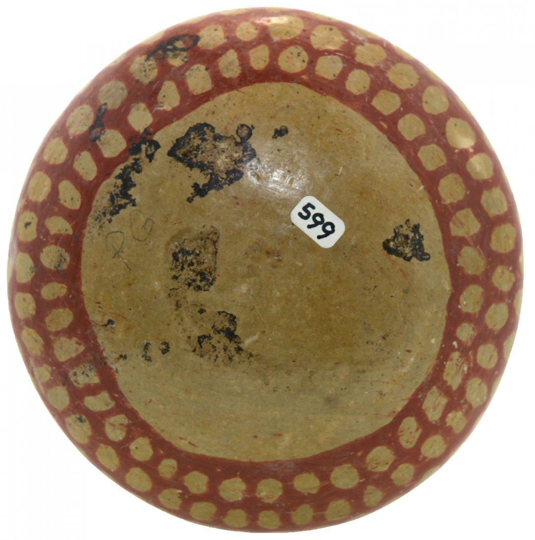 "5 1/4"" D. Double Lobed Bowl.  Chupicuaro (MX).  500-100 - 4"