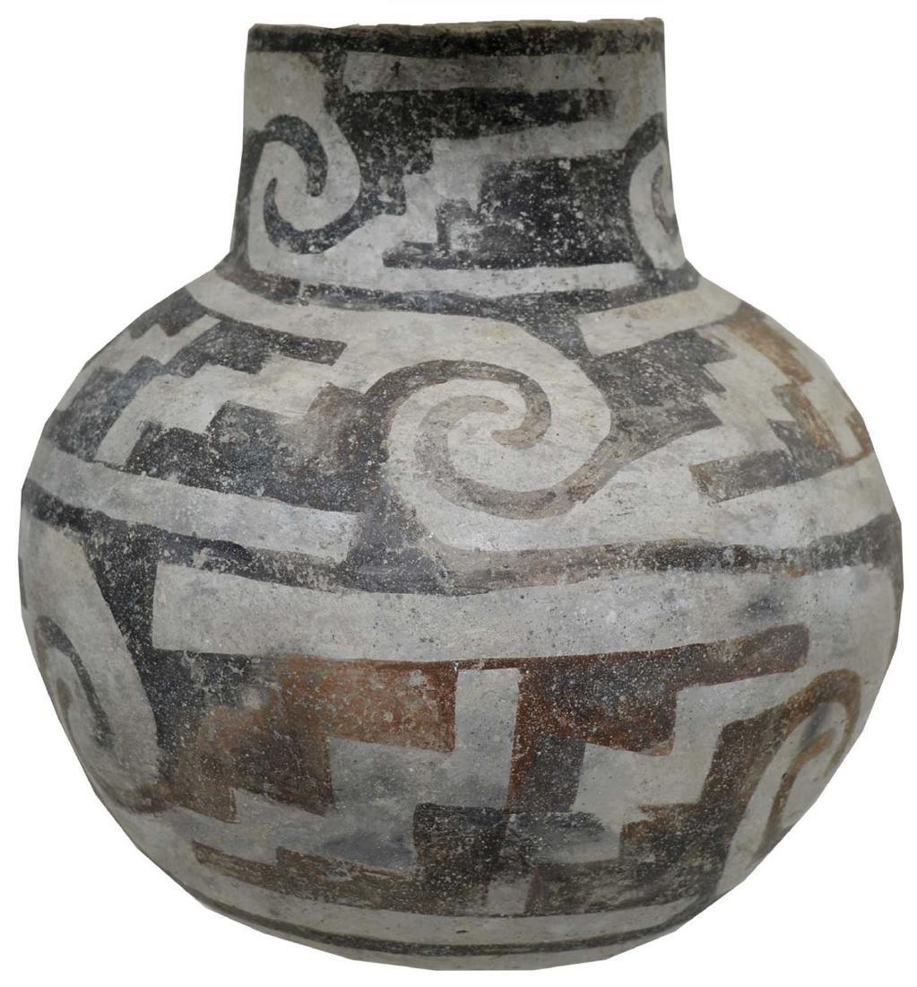 "6 1/2"" H. Anasazi Jar.  NM.   Circa 1200 AD.  Ex-Art"